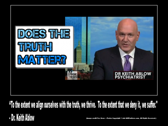 Does-Truth-Matter-To-the-extent-we-allign-ourselves-with-the-truth, we thrive-to-the-extend-we-deny-it-we-suffer-dr-keith-ablow-photo-fox-poster-credit-MHProNews-com-