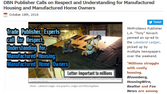 respectformanufacturedhousingmanufacturedhomeowner-postedmanufacturedhousingindustrycommentary-mastheadmhpronews