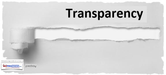 TransparencyMastheadBlogManufacturedHousingIndustryMastheadCommentaryMHProNews