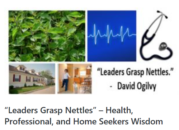 LeadersGraspNettlesHealthProfessionalHomeSeekersWisdomWeeklyRecapMHProNews